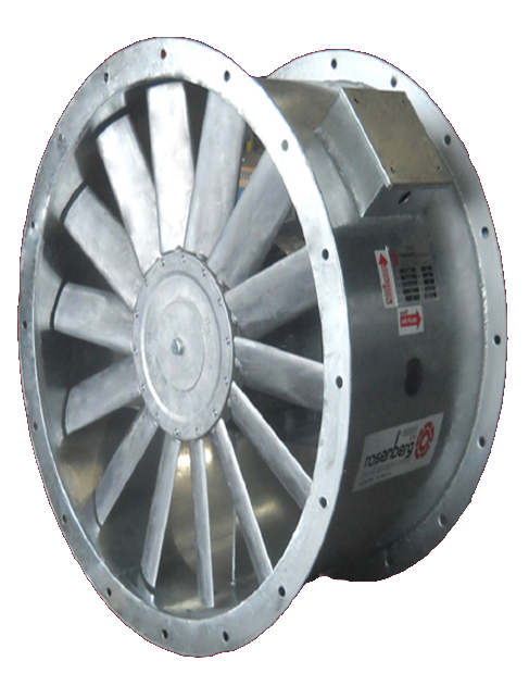 Small Axial Fans : Axial flow fans rosenberg